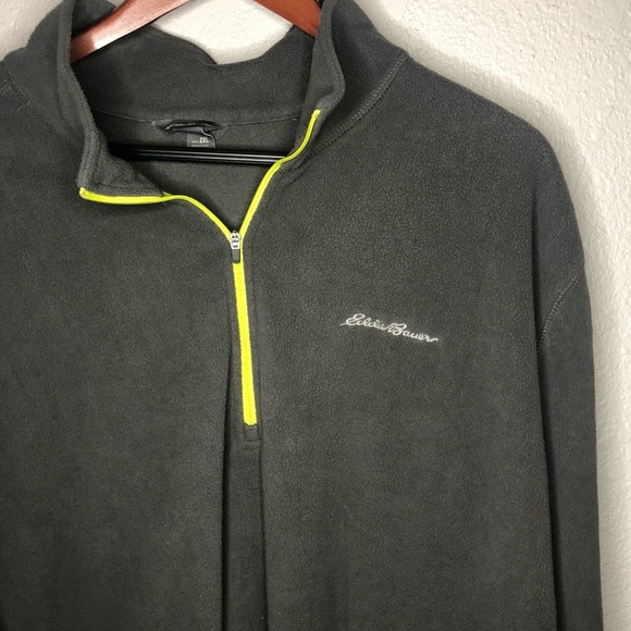 Eddie Bauer size 2XL quarter zip fleece pullover